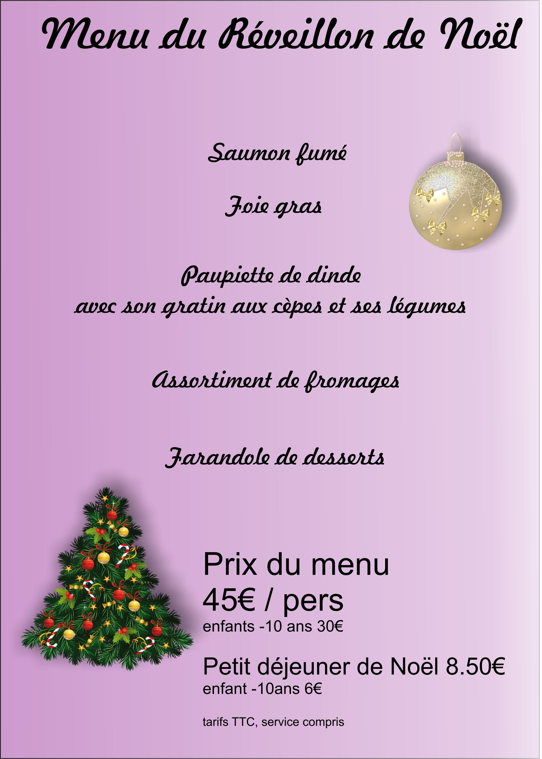 Menu noel 2015 for Idee de menu original